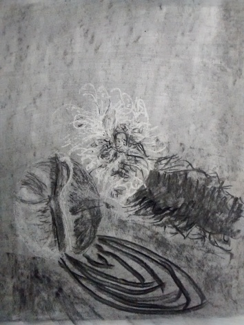 Charcoal Subtraction drawing 2