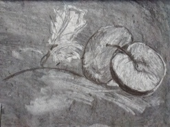 Charcoal Subtraction drawing